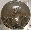 Pisanello, Sesta medaglia di Lionello d'Este, recto, 1444.JPG