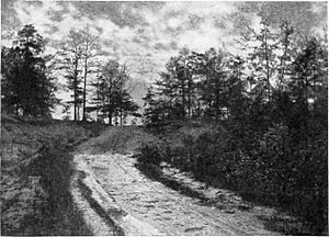 Wakefield, Alabama - A 1904 photo of the place Burr was captured