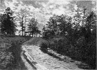 Burr conspiracy - A photo from 1904 shows the place Burr was captured near Wakefield, Alabama
