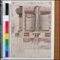 Plan and two sections of a proposed dockyard, possibly at Deal (Bray album) RMG PT2037.tiff