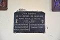 Plaque commémorative 39-45 dans l'église Saint-Michel de Saint-Michel-de-Montjoie.jpg