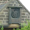 Plaque on building, Keighley Road, Harden - geograph.org.uk - 952705.jpg