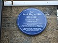 Plaque to Sir Fred Hoyle - geograph.org.uk - 1409956.jpg