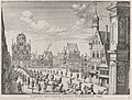 Plate 18- Procession of the Spanish Prince Ferdinand into the city of Ghent, January 28, 1635; from Guillielmus Becanus's 'Serenissimi Principis Ferdinandi, Hispaniarum Infantis...' MET DP874788.jpg