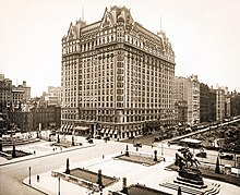 Photograph of the Plaza Hotel