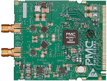Picture of a WiMAX MIMO board Pmc wizird.jpg