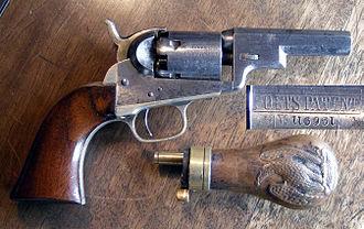 Colt Pocket Percussion Revolvers - Image: Pocket Wells Fargo