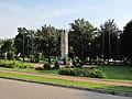 Podlaskie - Wizna - Wizna - Park - Pomnik Obrońców - Mickiewicza front; prawo.jpg