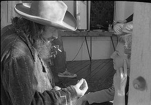 Konstantyn K. Kuzminsky - Kuzminsky and American performance poet Hedwig Gorski in Austin, Texas, 1979.