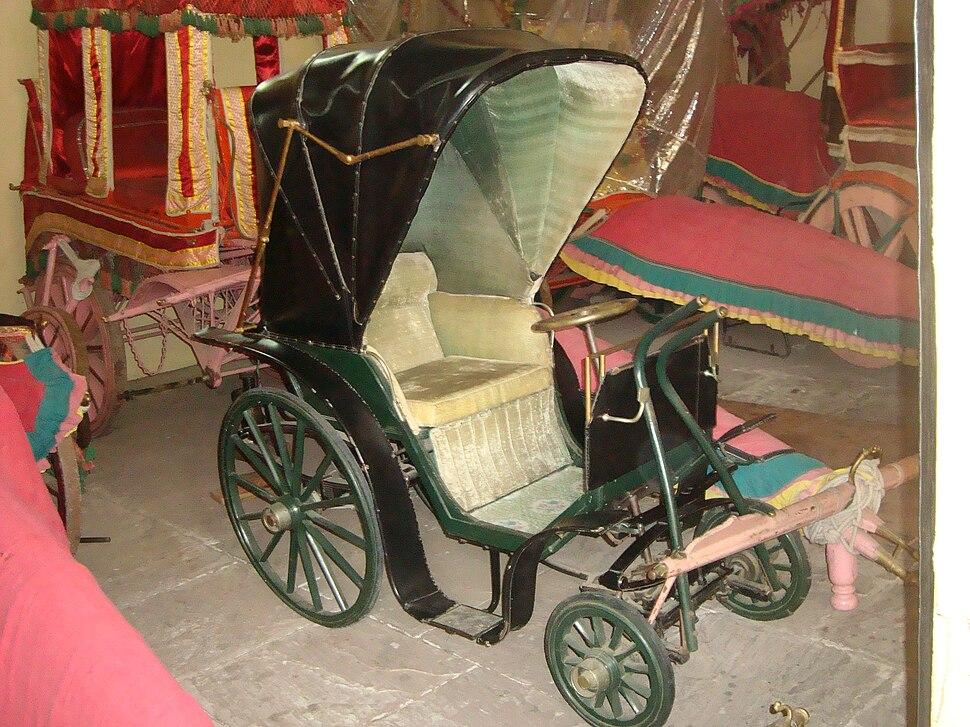 Polo Cart at City Palace, Jaipur