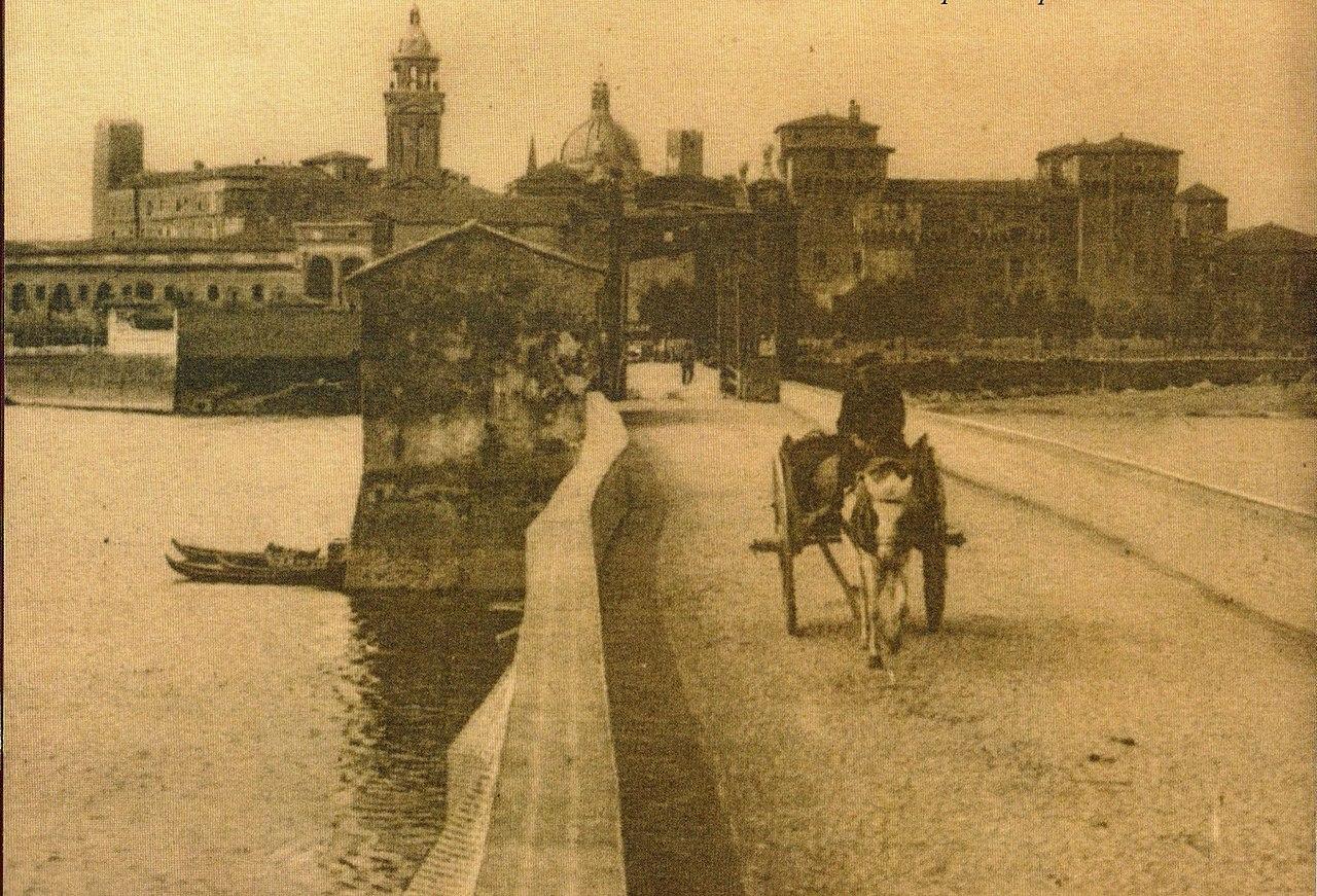 Ponte e Castello di San Giorgio, 1918