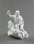 Porslin. Vit figurin - Hallwylska museet - 89224.tif