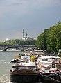Port des Tuileries et Pont de la Concorde, Paris juin 2013.jpg