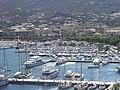 Port et ville depuis la citadelle (Calvi) (2).jpg