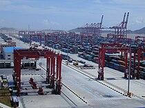 Port of Shanghai, Yangshan Deep-water Harbour Zone, 02.jpg
