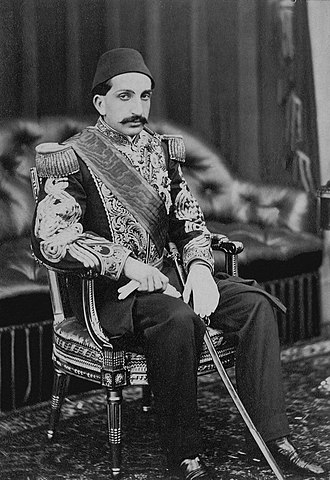 Abdul Hamid II - Abdul Hamid II as a Şehzade (Prince) in Balmoral Castle, Scotland, 1867
