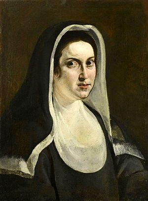 Portrait of a Nun (Artemisia Gentileschi) - Image: Portrait of a nun by Artemisia Gentileschi ca. 1613 1618