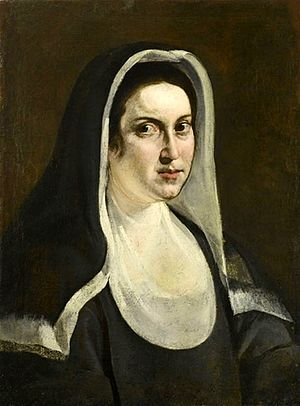 Portrait Of A Nun Artemisia Gentileschi Wikipedia