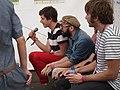 Positivus, Latvia, Jul 16, 2011 OK Go at the Positivus Music Festival (7464126396).jpg