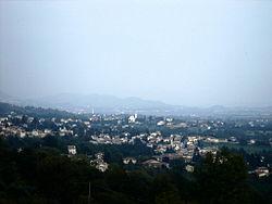 Possagno Panorama dal Tempio verso Cavaso del Tomba.JPG