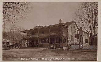 Sand Lake, New York - Chris Crapes Hotel, about 1910
