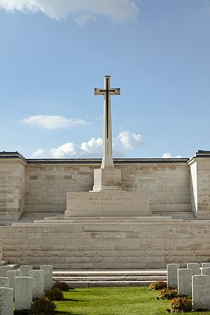Pozières Memorial - The Cross of Sacrifice