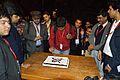 Prachatos Mitra - Bengali Wikipedia 10th Anniversary Cake Cutting - Bengali Wikipedia 10th Anniversary Celebration - Jadavpur University - Kolkata 2015-01-09 3040.JPG