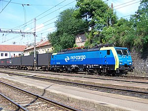 PKP Cargo - EU45 Locomotive with the PKP Cargo painting