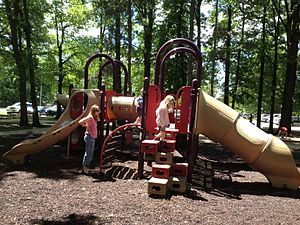 Prairie Village, Kansas - Image: Prairie Village, Kansas Franklin Park playground