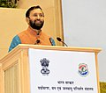 Prakash Javadekar addressing at the inaugural session of the National Conference on 'Gaushalas', organised by the Ministry of Environment, Forest and Climate Change and Department of Animal Husbandry, Dairying & Fisheries.jpg