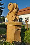 Pramen před lázeňským domem Morava, Slatinice, okres Olomouc (02).jpg