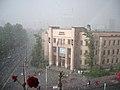 Pravni Fakultet, Beograd. Kiša.jpg