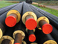 Pre-installation insulated underground pipes for district heating.jpg
