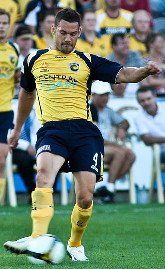 Pedj Bojić - Bojić playing for Central Coast Mariners in 2008