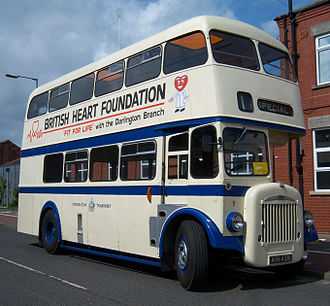 Charles H. Roe - Preserved Darlington Corporation Daimler CCG5 in 2012