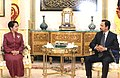 President Arroyo with Sultan Haji Hassanal Bolkiah (2003).jpg