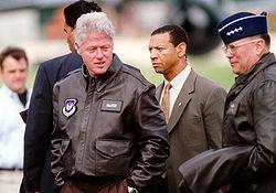 President Clinton by Molly Gilliam, 1999 (DOD 990505-F-7597G-005) (514619639)