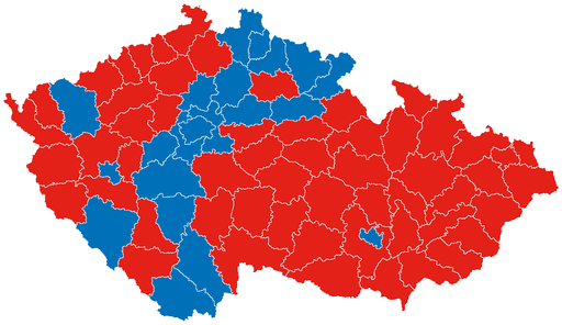 Presidential Results 2013 - First Round - districts