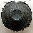 Prima età del ferro, urna biconica e coperchio in bronzo, dalla tomba 199 della necropoli del sorbo, 850-800 ac ca. 02.jpg