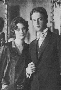 Le futur roi Léopold III et son épouse Astrid de Suède en 1926