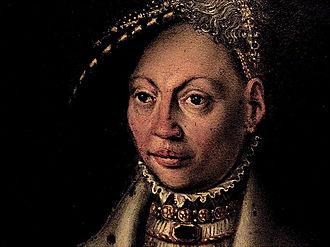Dorothea of Denmark, Duchess of Prussia - Image: Prinsesse Dorothea (1504 1547)