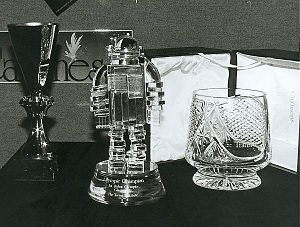 First Robot Olympics - Caithness Glass Champions Award.