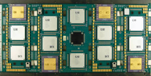 Superscalar processor - Processor board of a CRAY T3e supercomputer with four superscalar Alpha 21164 processors