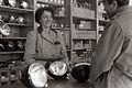 Prodajalna z avtomaterialom Avtomaterial v Mariboru 1955.jpg