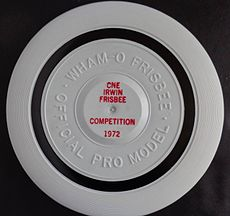 Flying disc resource learn about share and discuss flying disc the first frisbee professional model ever designed with a tournament identification the 1972 canadian open frisbee championshipstoronto fandeluxe Image collections