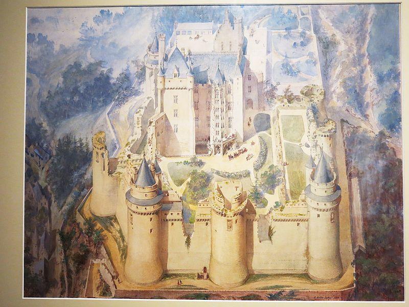 File:Projet de restauration du château de Pierrefonds.jpg