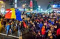 Protest against corruption - Bucharest 2017 - Piata Romana.jpg