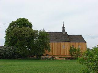 Przypust Village in Kuyavian-Pomeranian, Poland