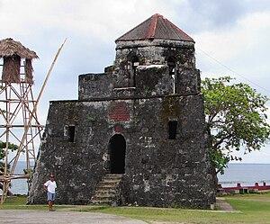 Maribojoc, Bohol - Image: Punta Cruz watchtower