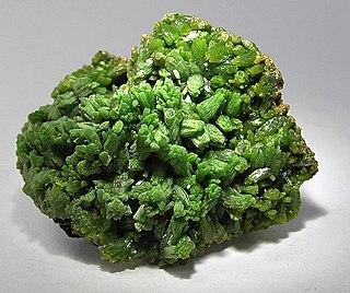 Pyromorphite phosphate mineral